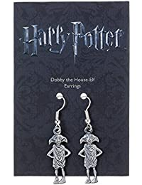 Harry Potter Pendientes Dobby the House-Elf (plateado)