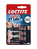 LOCTITE Super Attak MiniTrio Power Flex 3x1g
