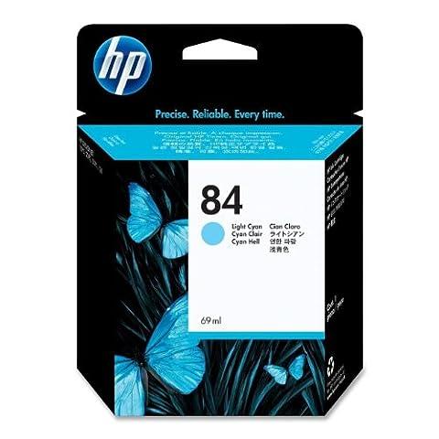 HP Original C5017A Ink Cartridge No 84 Cyan Light 69Ml