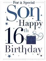 Son 16th Birthday, Birthday Card