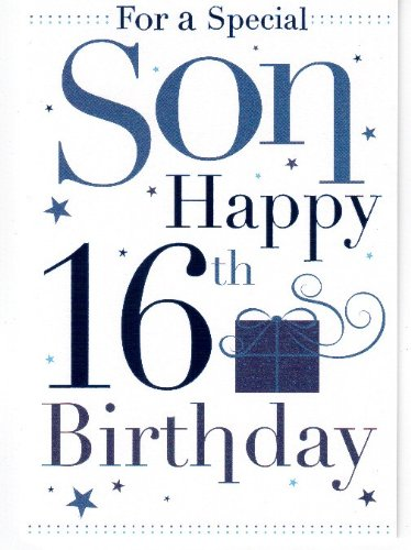 From 223 son 16th birthday birthday card compare prices buy image1 bookmarktalkfo Choice Image