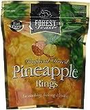 Forest Feast Premium Fruit Doypacks Pineapple Rings 125 g (Pack of 4)