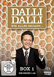 Dalli Dalli - Wie alles begann... Box 1: Die Shows 1-26 [10 DVDs]