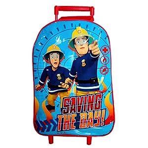 Sam El Bombero - Fireman Sam - Niños Trolley - Escena Saving the Day1 gran compartimento principal con cierre (Ancho 29,0 x Alto 40,0 x Profundidad 10.0 cm)Asa telescópica de plástico, extensible a la altura total de 72,0 cmAsa adicionalpie de plásti...