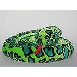 Plüschtier Schlange - grün - 250 cm