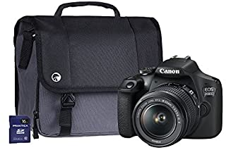 Canon EOS 2000D SLR Camera Kit with EF-S 18-55 mm IS Lens/16 GB SD Card and Case - Black (B07BR5LN4J) | Amazon price tracker / tracking, Amazon price history charts, Amazon price watches, Amazon price drop alerts