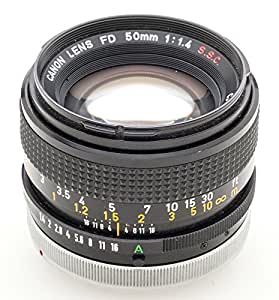 Canon FD 50mm 50 mm 1:1.4 1.4 S.S.C. - A-1 AT-1 T70 AE-1 F-1