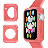 Cotechs® - Red Hydro Gel Case Cover Skin For Apple Watch 42mm
