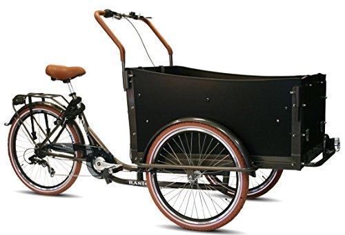 Transportrad Voozer 7 Gang schwarz -braun