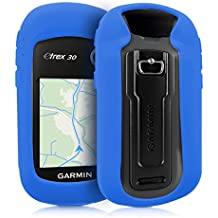 kwmobile Funda para Garmin eTrex 10/20/30/201x/209x/309x - Estuche Protector de navegador GPS para Ciclismo - Cubierta Case Cover para Navi de Bicicleta Azul