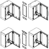 Schneider Electric NSYSUPLA4 Kit de Embellecedor Estético PLA o PLAZ de Acoplamiento sin TEJ, 420 mm L