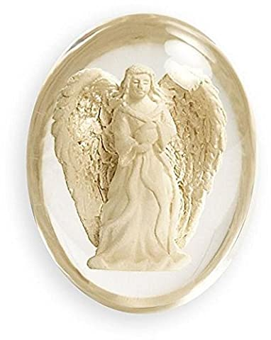 Guardian Angel Comfort Stone 3.5 cm x 4 cm. Angel Gift to Hold. Angel in My Hand. My Guardian Angel .St Joseph's Catholic Giftshop on