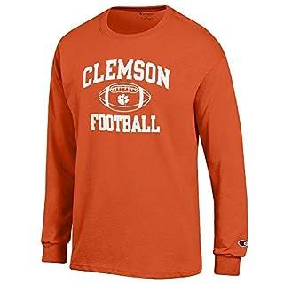 Elite Fan Shop NCAA LSU Tigers Men's Football Long Sleeve T-Shirt, Purple, XX Large