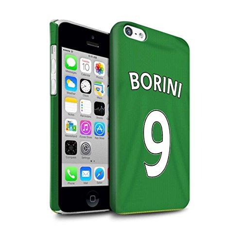 Officiel Sunderland AFC Coque / Clipser Matte Etui pour Apple iPhone 5C / Pack 24pcs Design / SAFC Maillot Extérieur 15/16 Collection Borini