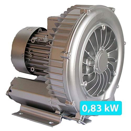 Warmpool Bomba de Aire turbina soplante para Piscina o SPA 0.83 kw 175 m³/h Monofásica. WPBT08