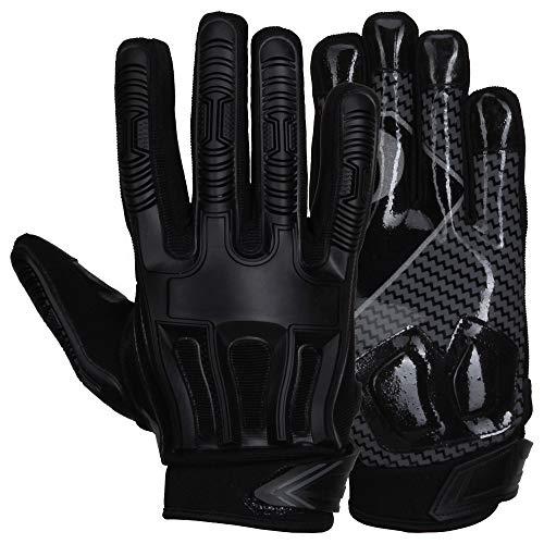 Prostyle Destroyer American Football Lineman Handschuhe - schwarz Gr. XL