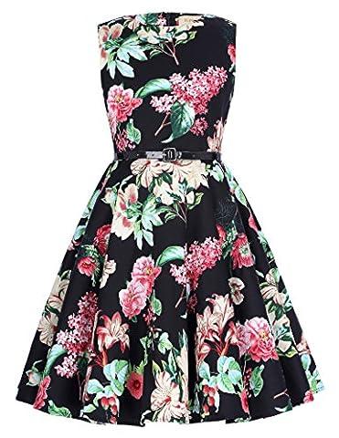 Retro Ballkleid Partykleid Abendkleid 10-11 jahre KK250-7 (Region 10 Kostüm)
