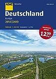ADAC Reiseatlas Deutschland, Europa 2018/2019 1:200 000 (ADAC Atlanten) - XXX