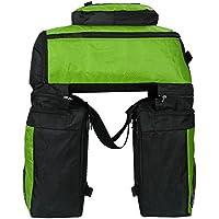 70L Gepäckträgertasche, 3 in 1 Multifunction Reißfest Schockresistent Pannier Taschen Fahrradträger Wasserdichte Fahrrad-Hecktasche mit Regen-Abdeckung