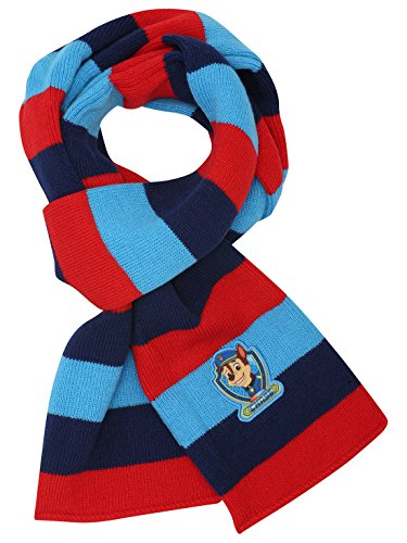 paw-patrol-chase-character-stripe-pattern-soft-touch-knitted-winter-scarf-multicolour-one-size