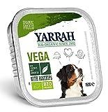Yarrah 12X150 GR Dog alu brokjes Vega met rozenbottels hondenvoer