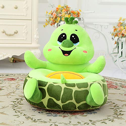 Plüsch-Kindersessel Sessel Babysessel Kindermöbel 40 x 45 cm für Spielzimmer oder Kinderzimmer,Turtle