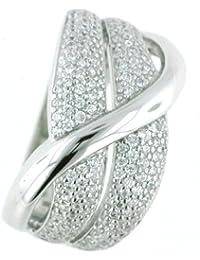 Vilma Righi Damen-Ring mit Zirkonia Silber 925 rhodiniert C8.S.635.4-ZY04