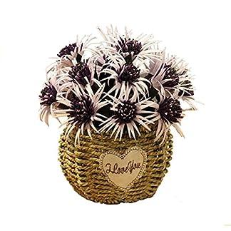 Black Temptation Flores Artificiales decoración de la Mesa de café Adornos-Dragon Begonia-Púrpura