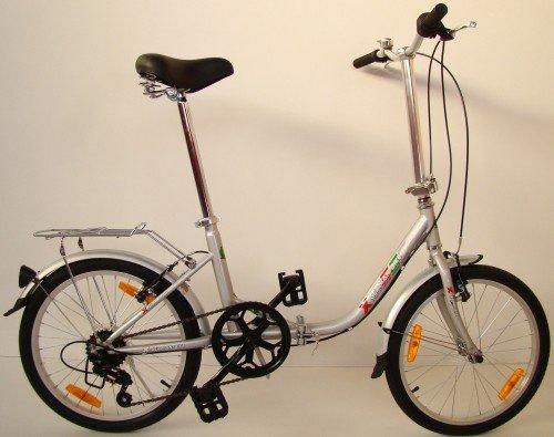 51QFn fojnL - Germ Anxia Folding Bike 20Inch Comfort 1Gang With Coaster Brakes