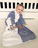 Schlummersack Baby Winter Schlafsack Langarm 3.5 Tog 110cm/12-36 Monate - Pirat