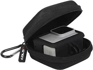 Jsver Mini Tasche Für Gopro 8 7 Case Schutztasche Für Gopro Hero 6 5 Tragetasche Für Dji Osmo Action Gopro Hero 7 2018 Hero 4 3 Und Gopro Zubehör Batteries Schwarz Elektronik