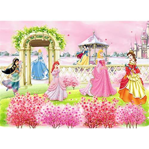 WYF Disney Princess Puzzles Kinder Holz Cartoon Puzzles Kinder Prinzessin Cartoon Puzzles 300.500.1000 Teile Papier Flugzeug Animation Puzzles P531 (Color : A, Size : 1000pc) - New Puzzle Teile 300 York