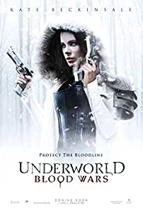Underworld Blood Wars 11x17 Inch Promo Movie Poster by Super Posters