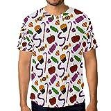 DEZIRO Halloween Trick Or Treat Workwear T-Shirt Kurzarm Gr. XL, 1