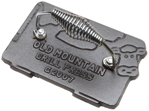 Vieille Montagne pré-enduite vache 10151 Jauge de pression, Grill à Bacon 7 \\