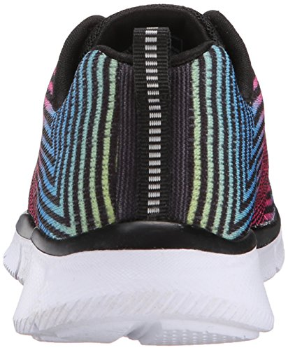Skechers Equalizer-Expect Miracles, Chaussures Multisport Outdoor Fille Noir (bkmt)