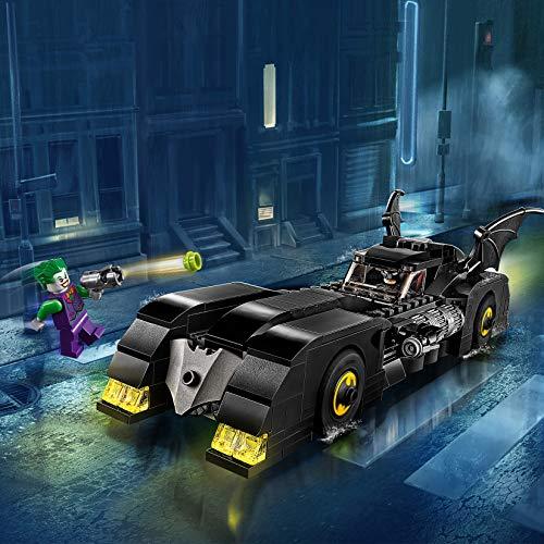 LEGO®-DC Comics Super HeroesTM BatmobileTM  la poursuite du JokerTM Jouet DC Comics Enfant 7 Ans et Plus, 342 Pièces 76119