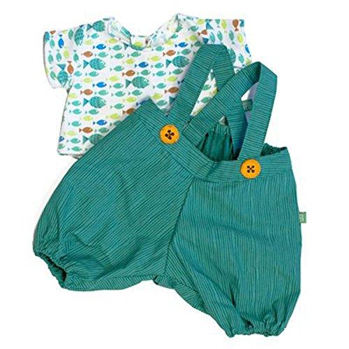 Kleidung Party Collection - Little Harry / 1 x grüne Hose mit bunt gemustertem Shirt (Lieferung OHNE Puppe!)