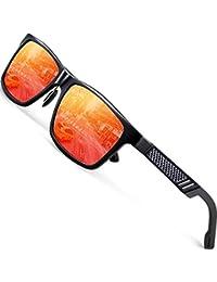 ATTCL Herren Stil Polarisierte Fahren Sonnenbrille Al-Mg Ultra leicht