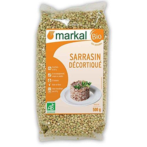 Semillas de trigo sarraceno orgánica sin cáscara   500g   Markal