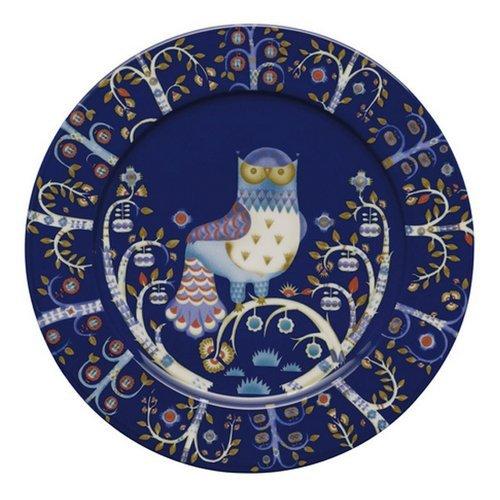 Iittala Taika 29cm Porcelain Plate in Blue by Iittala (Plate Blue Iittala)