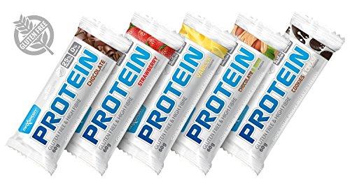 maxsport Nutrition Zero per cento transfettsaeuren senza glutine barretta proteica