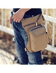 Al aire libre táctico militar bolsa de muslo gota pierna utilidad cintura cinturón bolsa riñonera