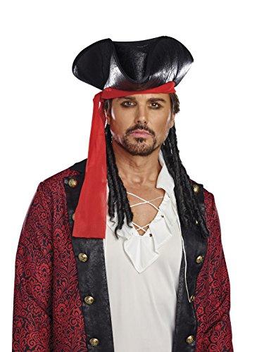 Hat Kostüm Pirate - Dreamgirl 10800Kostüm Pirate Hat, One Size