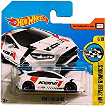 Hot Wheels Ford Focus RS - Serie Speed Graphics 8/10 (Short card)