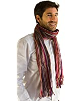 Striped Long Scarf Soft, range of colours, unisex - Fair trade