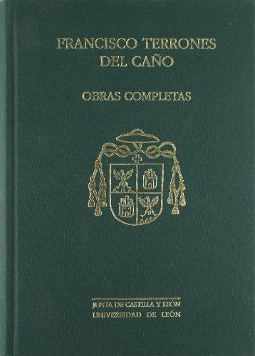 Francisco terrones del Cano obras completas