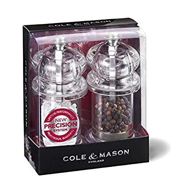Cole & Mason Precision 575 105 mm Acrylic Pepper Mill