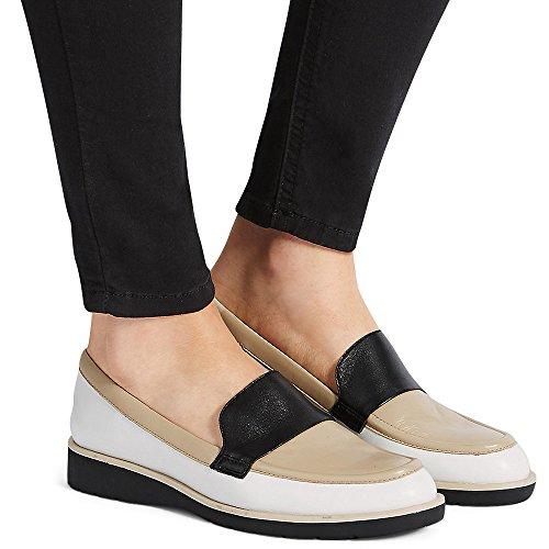Marks & Spencer Sandali con Zeppa donna Tan-White-Black