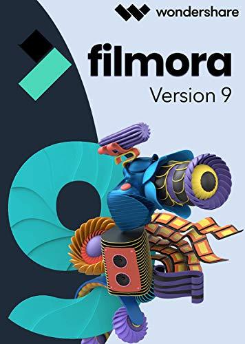 Filmora Video Editor 9 Windows - lifetime Vollversion (Product Keycard ohne Datenträger) Video Pda